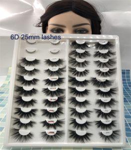 6D mink lashes