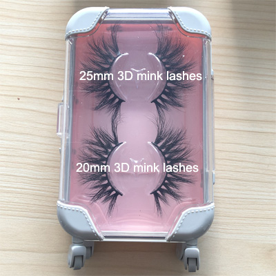 25 mm 3d mink eyelash