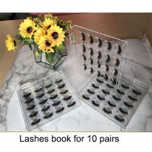lashes book box