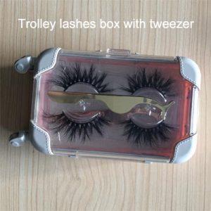 lashes tweezers