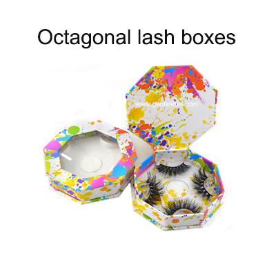 oxtagonal lashes boxes