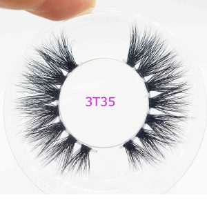 clear band mink lashes