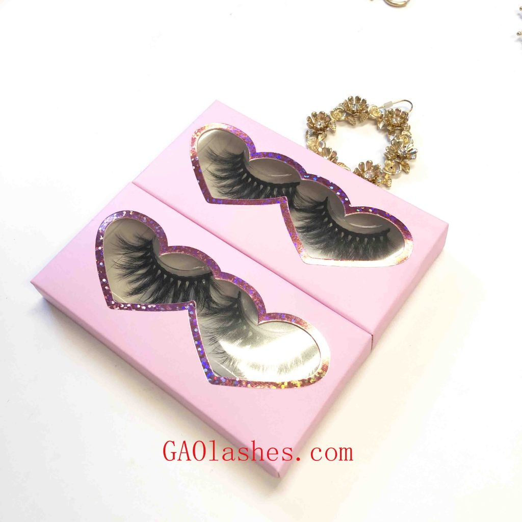 eyelashes boxes customized