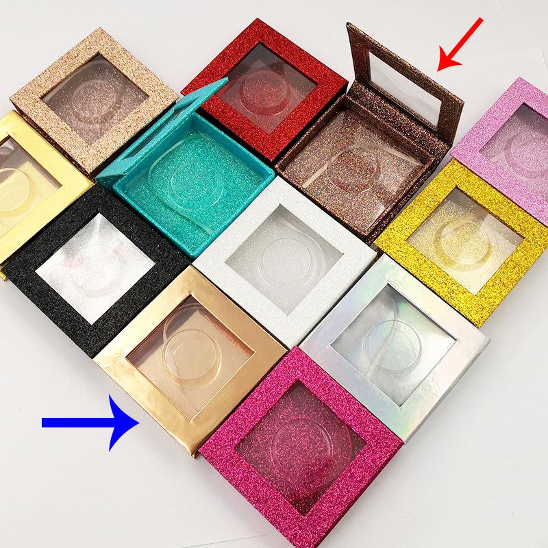 square eyelash box