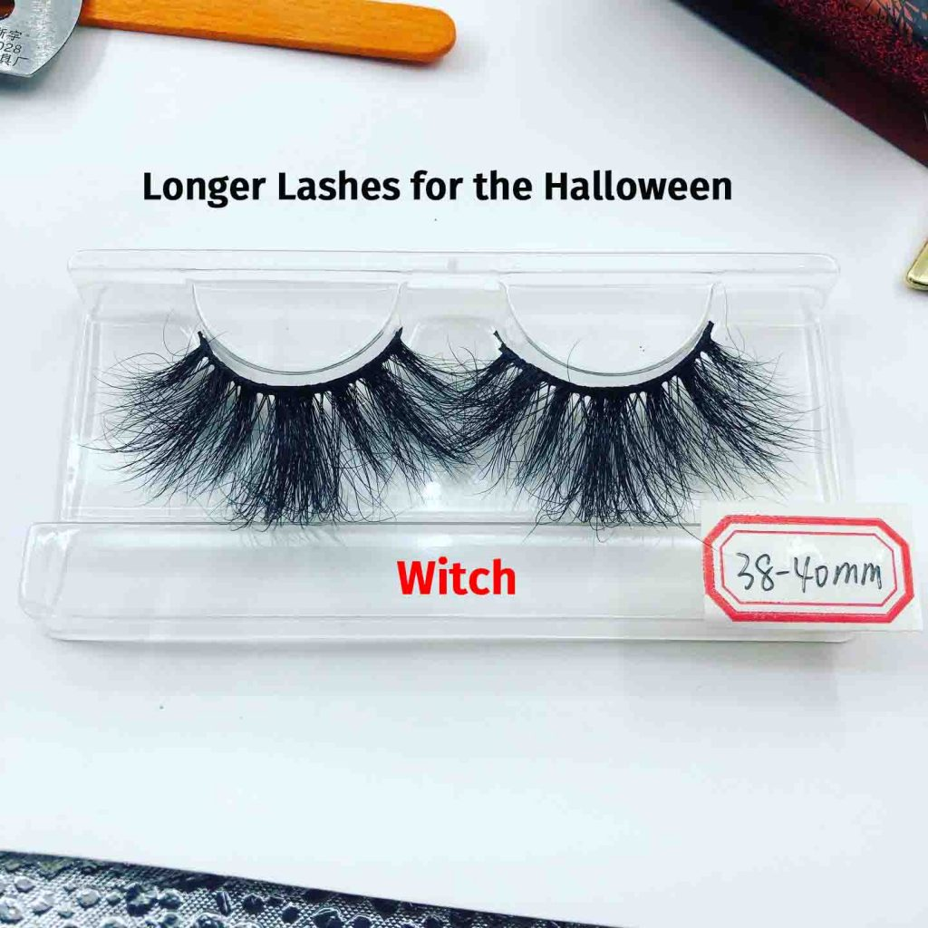 Halloween eyelashes- witch lashes