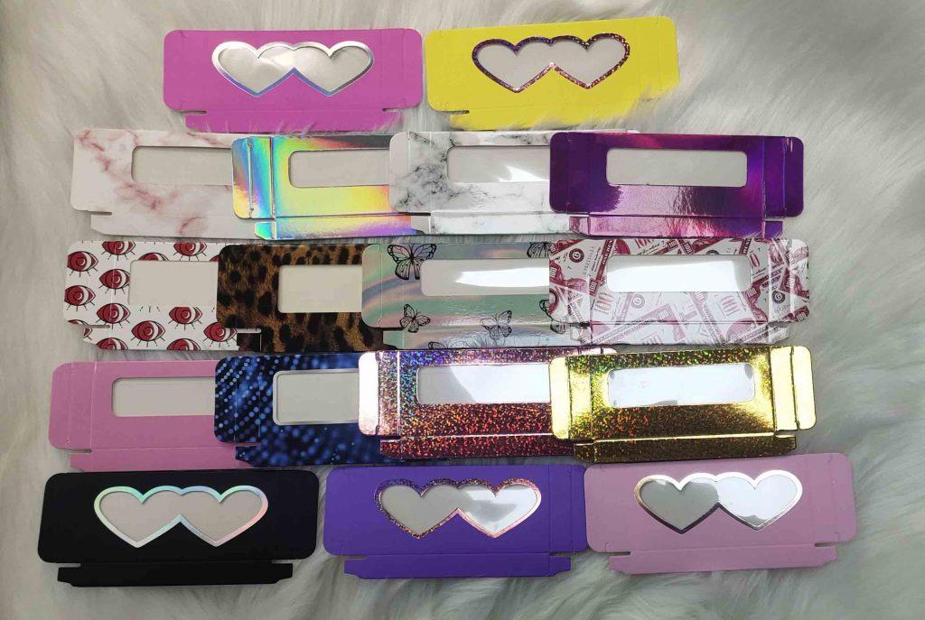 lashes paper boxes
