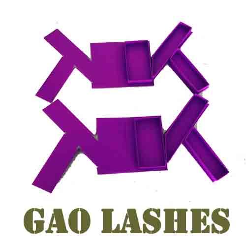 customized lashes boxes