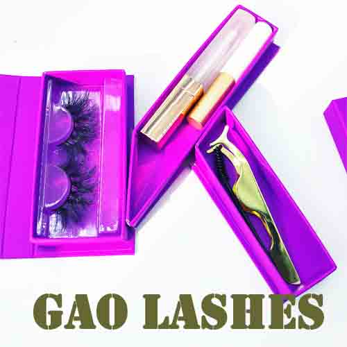 set of lashes boxes